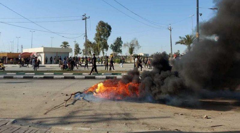تضامنا مع الناصرية.. تظاهرات في بغداد والبصرة والديوانية