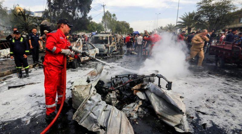 تفجير الحبيبية في بغداد.. مفاجأة حول هوية المنفذ المصاب